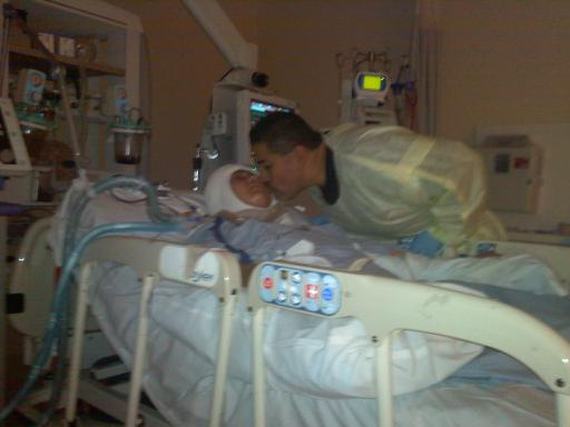 Daddy Kissing Ashlee