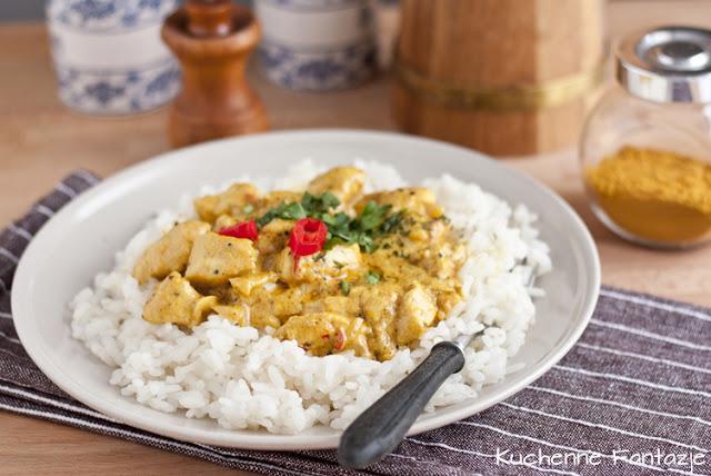 kurczak curry, kurczak, przepisy, z curry, sos curry, z kurczakiem, ryz, potrawy z curry,