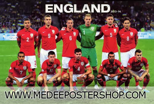 ENGLAND 2014 POSTER