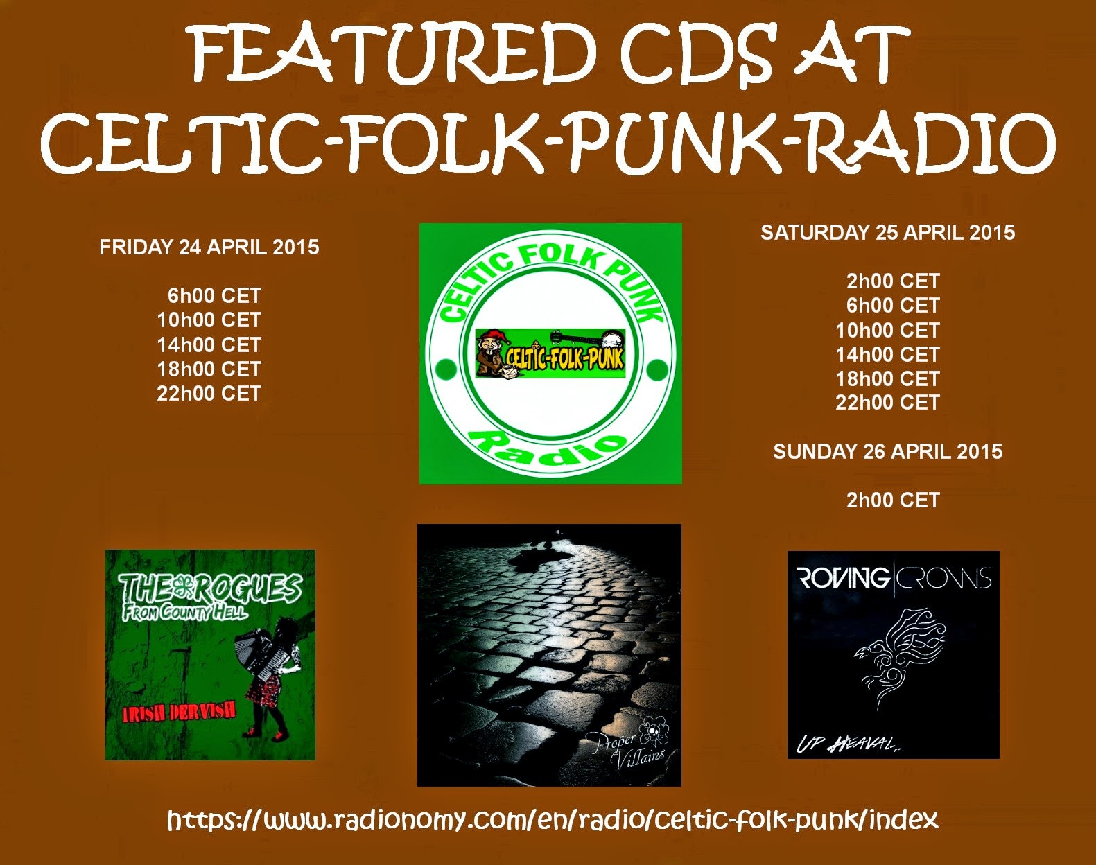 FEATURED ALBUMS AT CELTIC-FOLK-PUNK RADIO (24-26 APRIL ...
