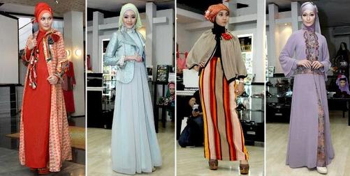 Lima Model Gamis Batik Terbaru