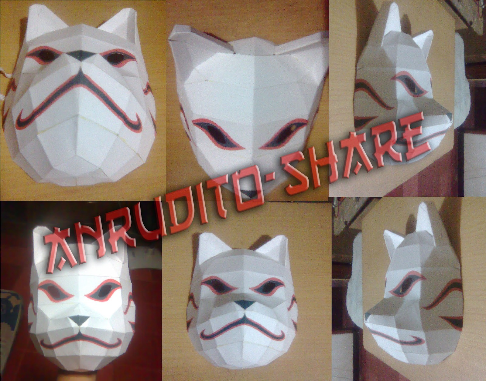 How to Make Anbu Kakashi MaskHow To Make A Anbu Mask
