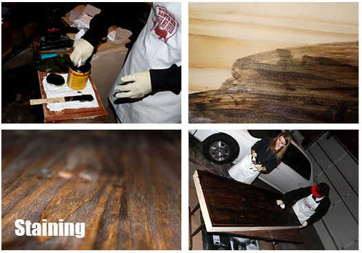 Dark Walnut Wood Stain