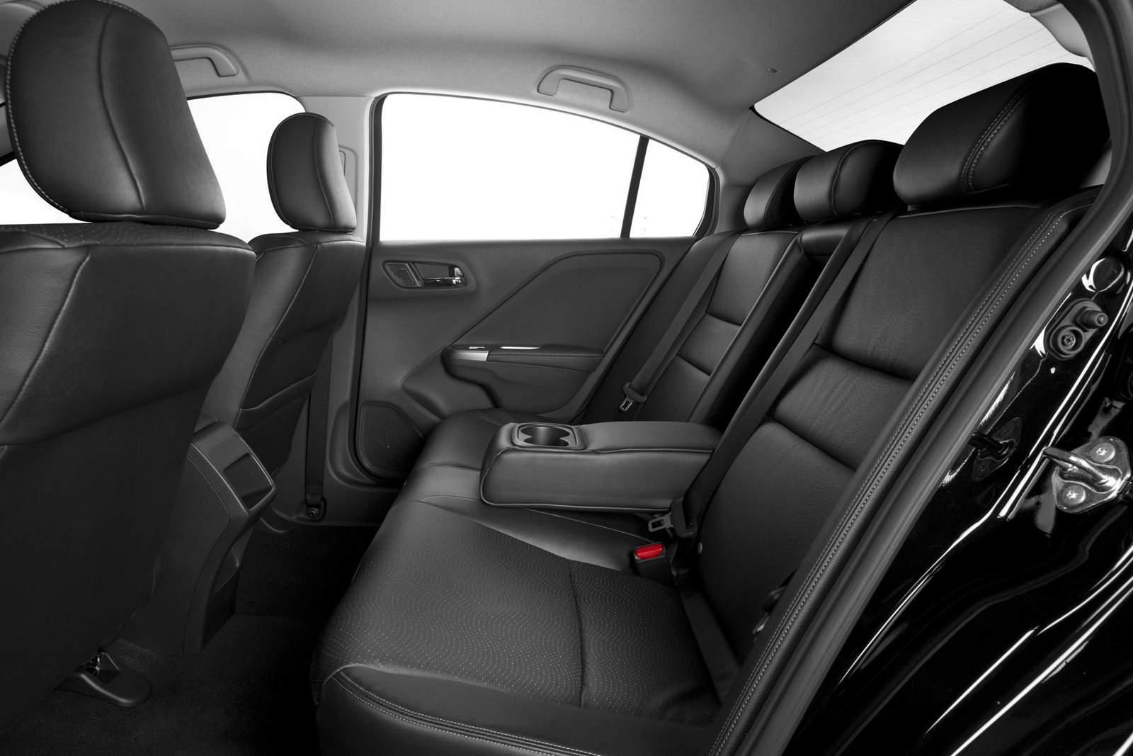 Novo Honda City 2015 - interior