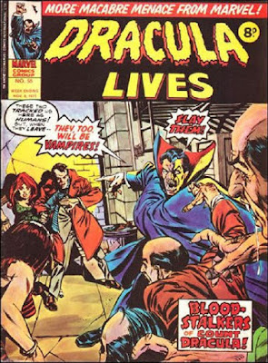 Marvel UK, Dracula Lives #55