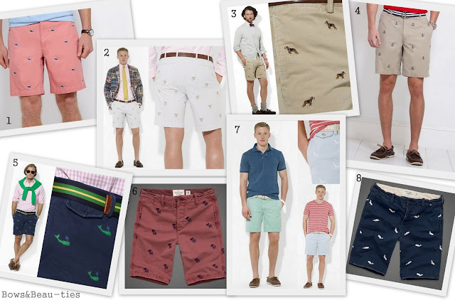 Preppy, Printed Shorts, subtle, Vineyard Vines, Ralph Lauren, Abercrombie and Fitch