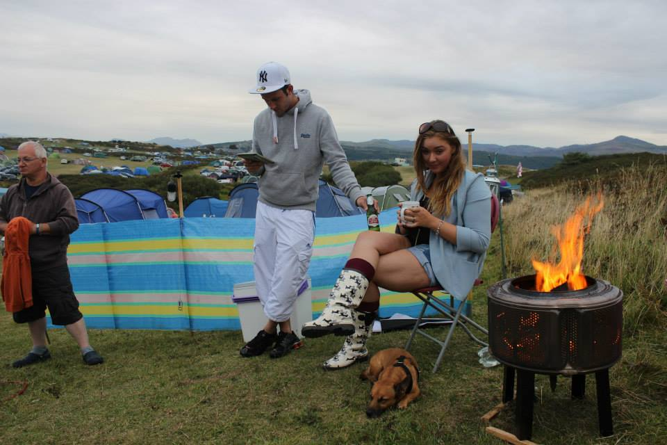 Shell Island Camping