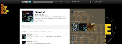 Cara Membuat Background Twitter Transparan