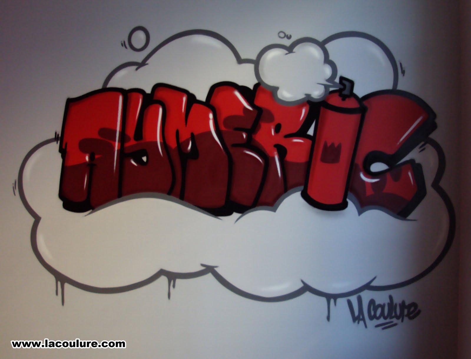 Prenom Graffiti Prenom Graffiti Clinepub Je Suis Le Seul Ici Dans