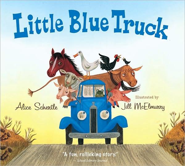 365 Great Children's Books: Day 49: Little Blue Truck