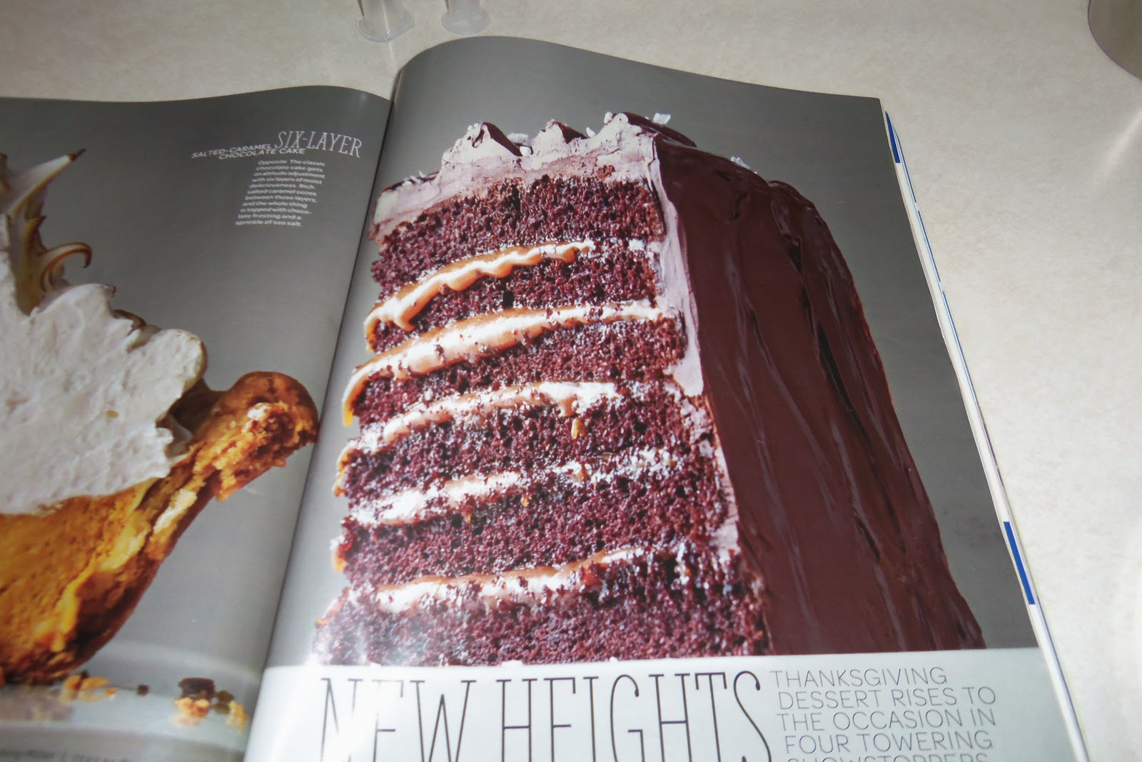 layer cake sweet paul magazine six layer chocolate cake salted caramel ...