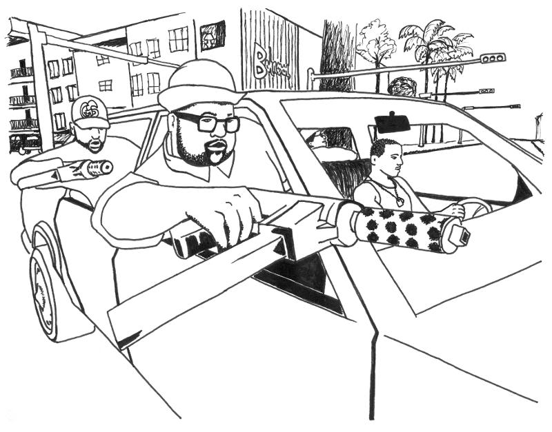 gta 5 cars coloring pages - photo#27