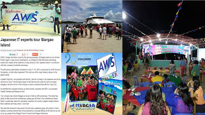 Japanese IT experts tour Siargao Island