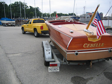 After - 19' Chris Craft Capri, complete refinish