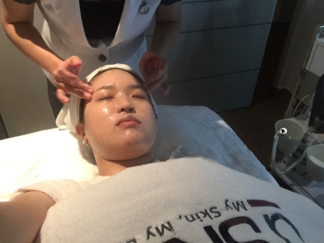 H.S.A Facial Treatment Review at D'skin Seletar Mall Lunarrive Singapore Lifestyle Blog