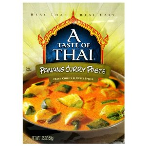 Taste of Thai Panang Curry Paste, 1.75-Ounce Packets (Pack of 12)