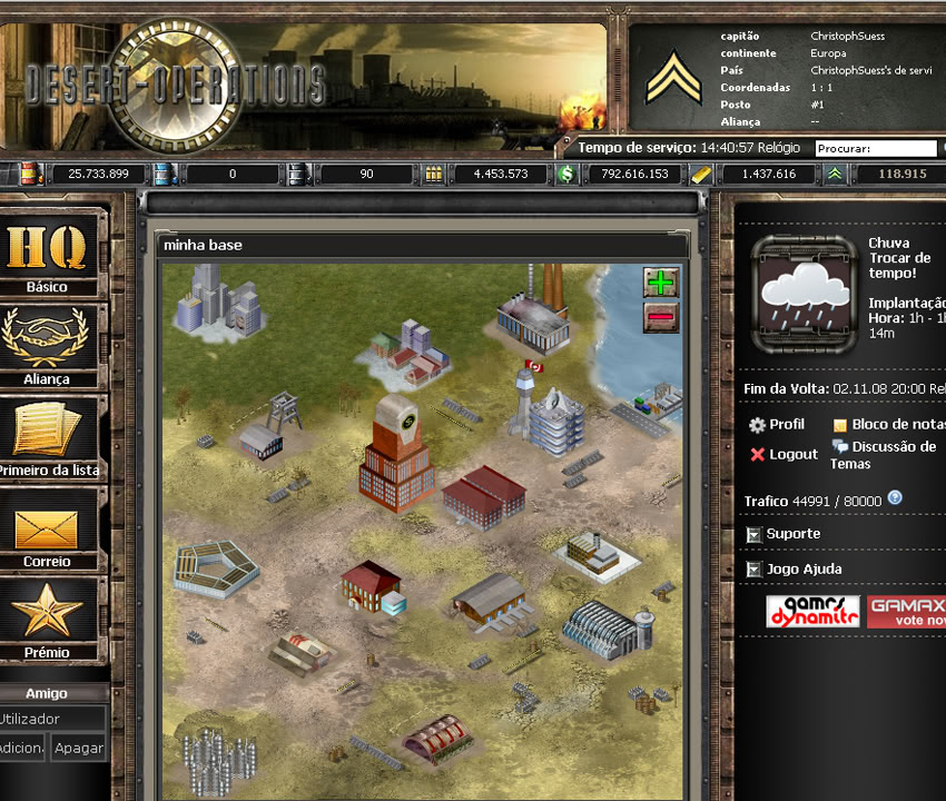 juego online estrategia militar