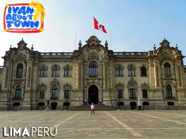 Casa de Pizarro, Palacio de Gobierno del Perú, Lima