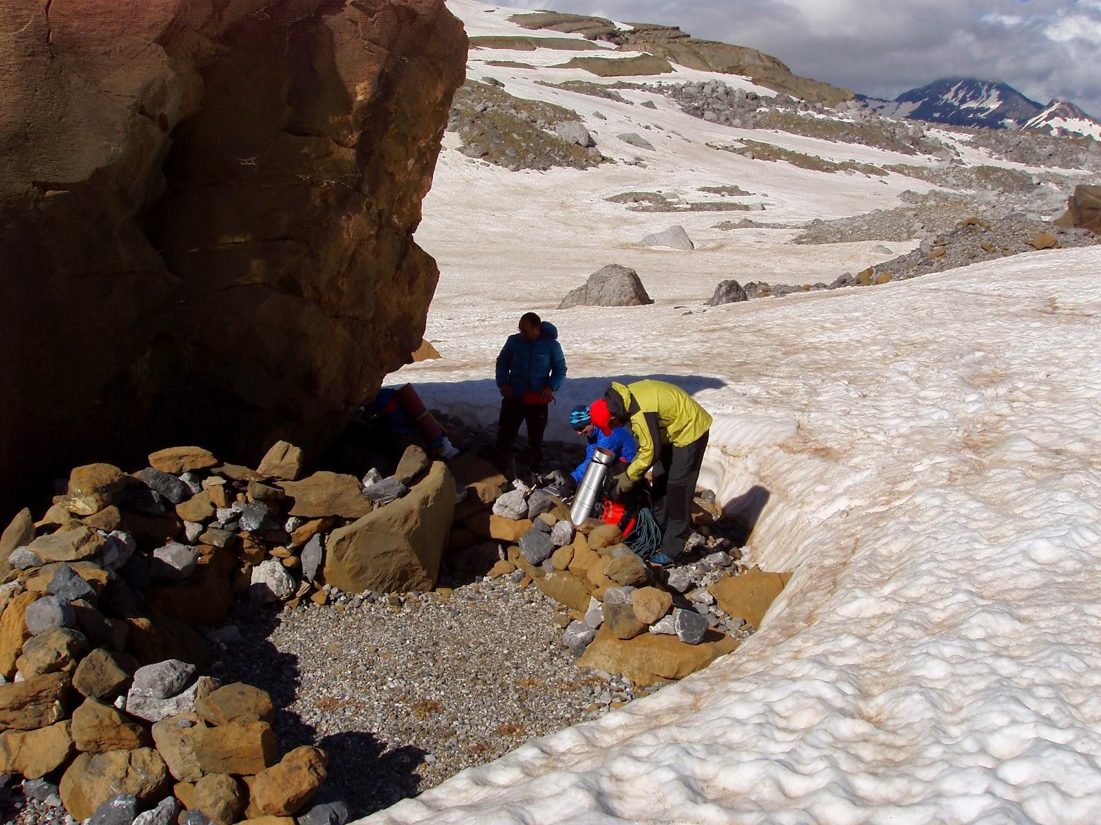 Pirineos,Ordesa: Monte Perdido. Cara Norte