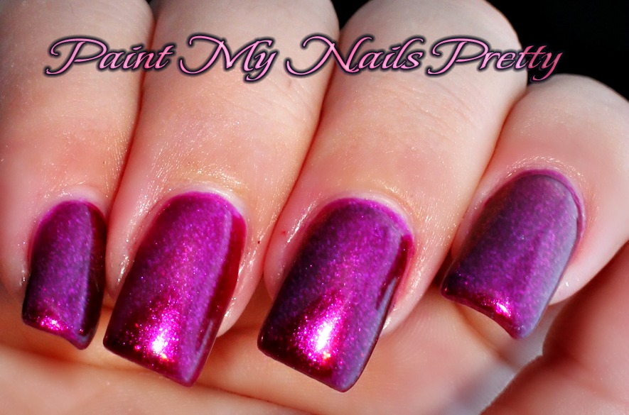 Paint My Nails Pretty: Butterflies and Rosebuds by Julie G