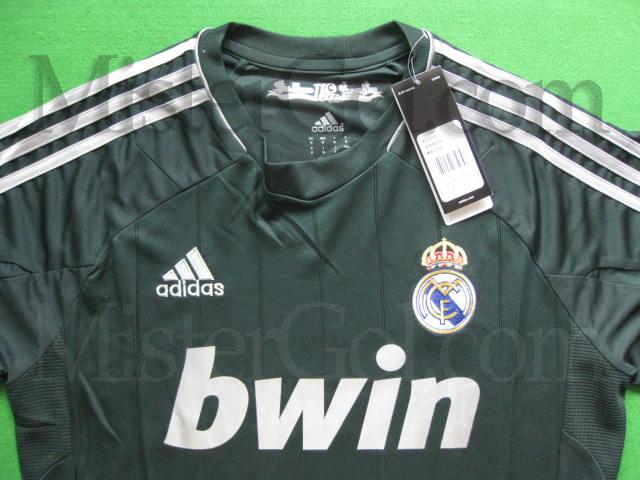 Real Madrid 2012 2013 Verde Adidas   Third Kit Real Madrid 2013
