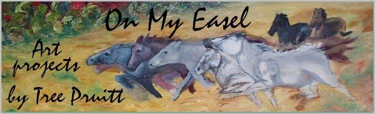 On My Easel Artist Blog