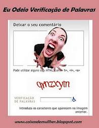 Campanha: Retire a Verificação de Palavras e receba mais comentários, Eu Participo!