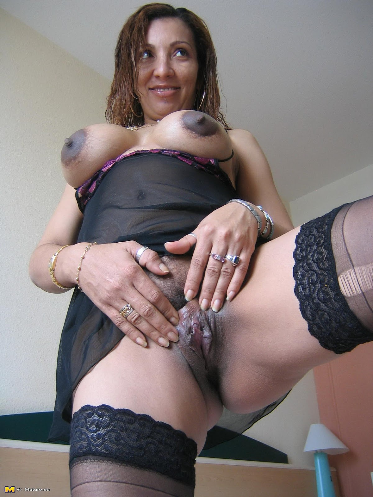 Tits are latina mature naked woman