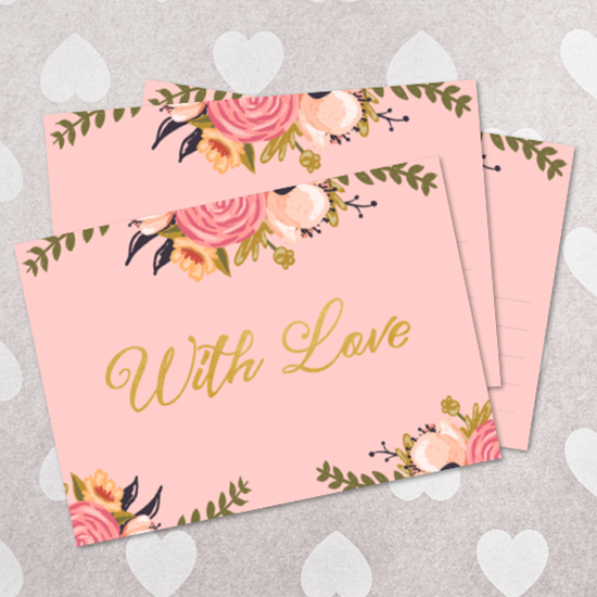 Printable Valentines card