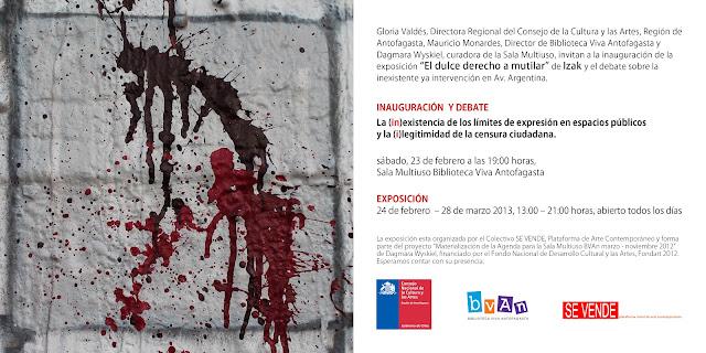 expo de izak en antofagasta, chile