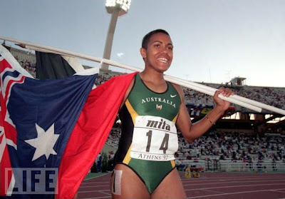Cathy Freeman - Atenas 1997