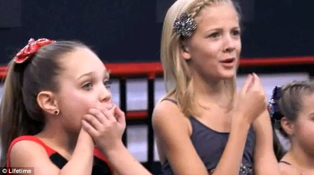 Uncomfortable: The girls look worried at the thought of appearing ...