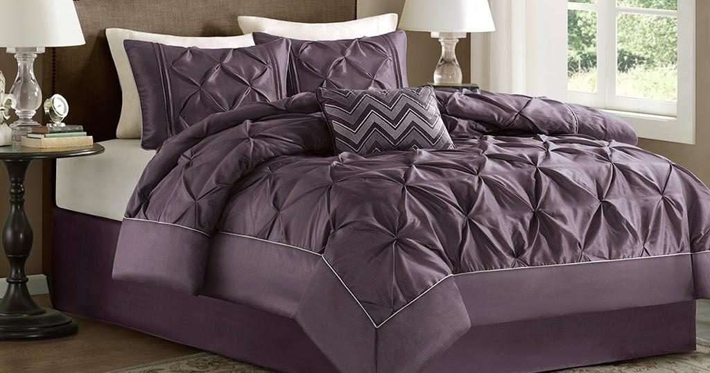 Total Fab Purple Plum Colored Bedding Warm Opulent