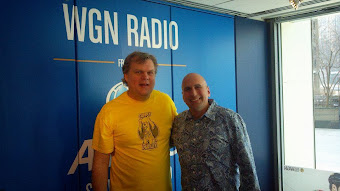 RANKIN/BASS radio on WGN RADIO with my friend David Plier (VP of THE MUSEUM OF BROADCAST CHICAGO)