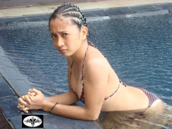 sexy asian in beach bikini 07