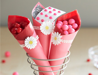 stylish paper cones