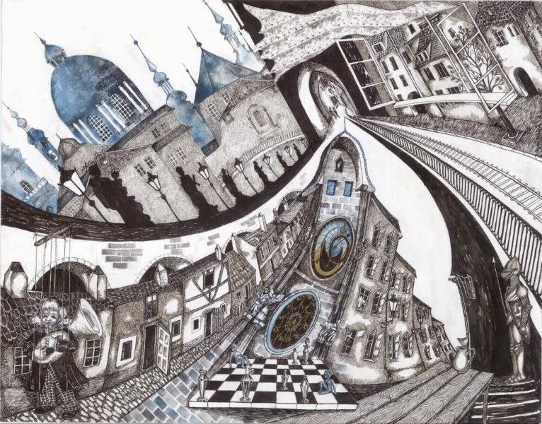 Katya Bessmertnaya. Graphics #8. By permission.
