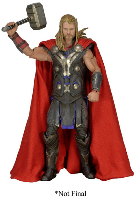 NECA Avengers / Thor The Dark World 1/4 Scale Thor Figure