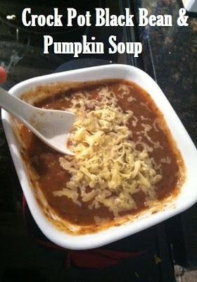 Crock Pot Black Bean (and Pumpkin) Soup - Razorback Britt