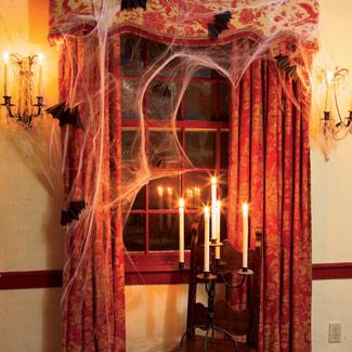Como decorar la casa para Halloween 2011 con bajo presupuesto