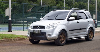 Modification Daihatsu Terios Adventure TX 2008