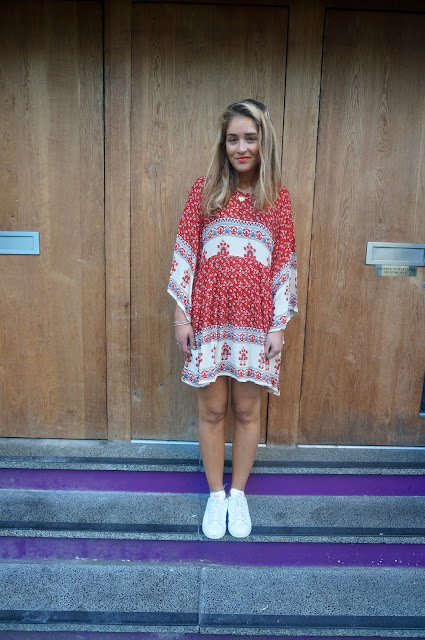 chloeschlothes - porter les trainers en robe
