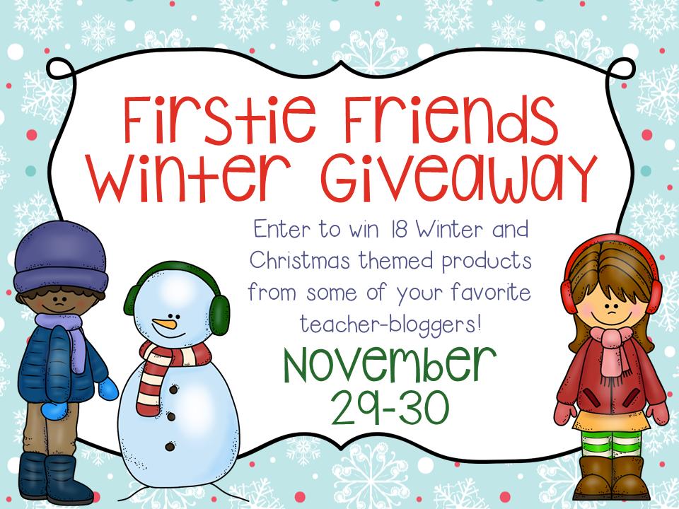http://adventures-inteaching.blogspot.com/2014/11/firstie-friends-winter-giveaway.html