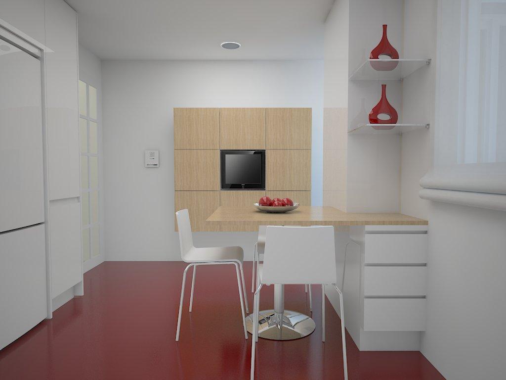 Arquitectura interiorismo como distribuir bien una cocina - Cocinas sin alicatar ...