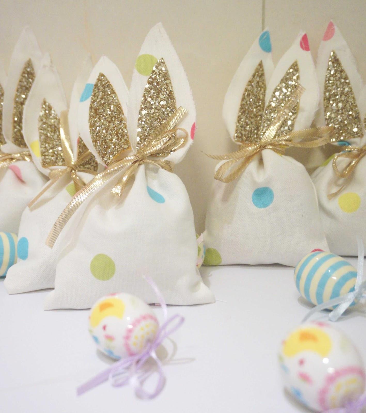 Bunny ear bags meg-made