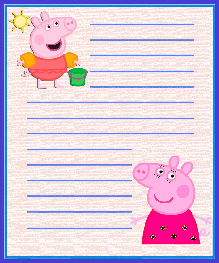 Papel de carta infantil