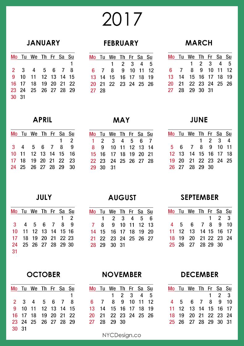 Calendar Green : New york web design studio ny calendar
