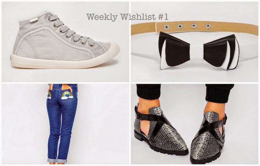 Weekly Wishlist #1