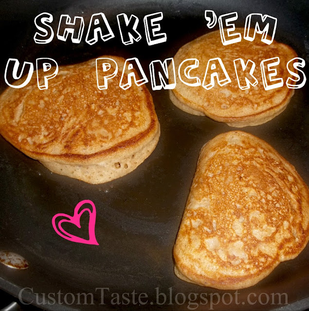 Shake 'Em Up Pancakes by Custom Taste
