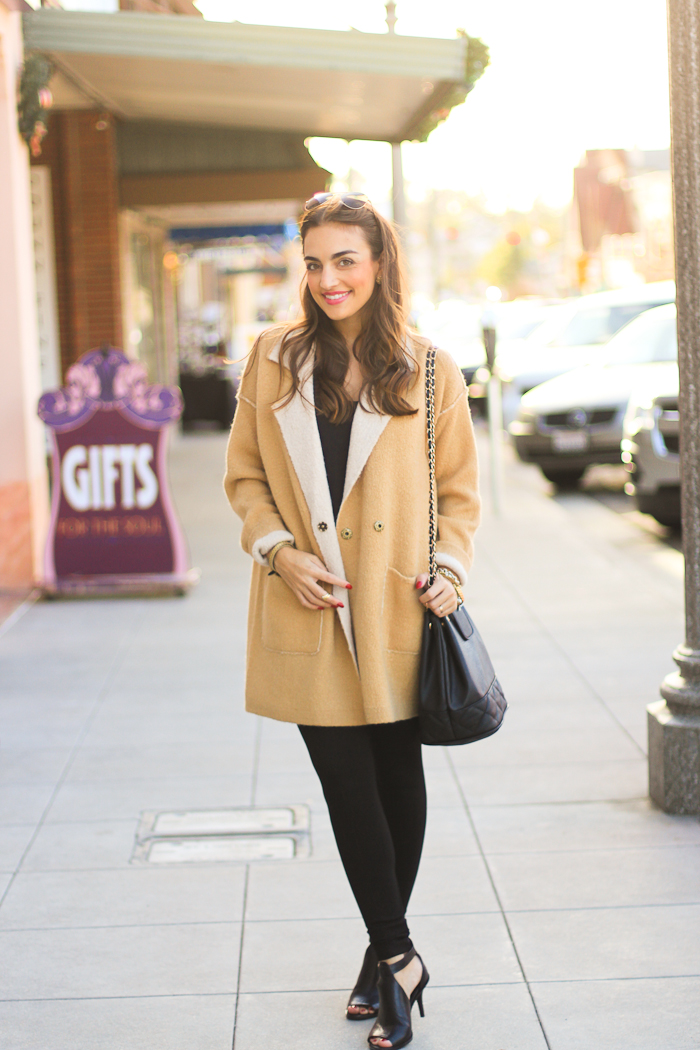 free people big on comfort sweater jacket camel